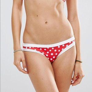 Seafolly 4 &6 Spot On Hipster Bikini Swim Bottom